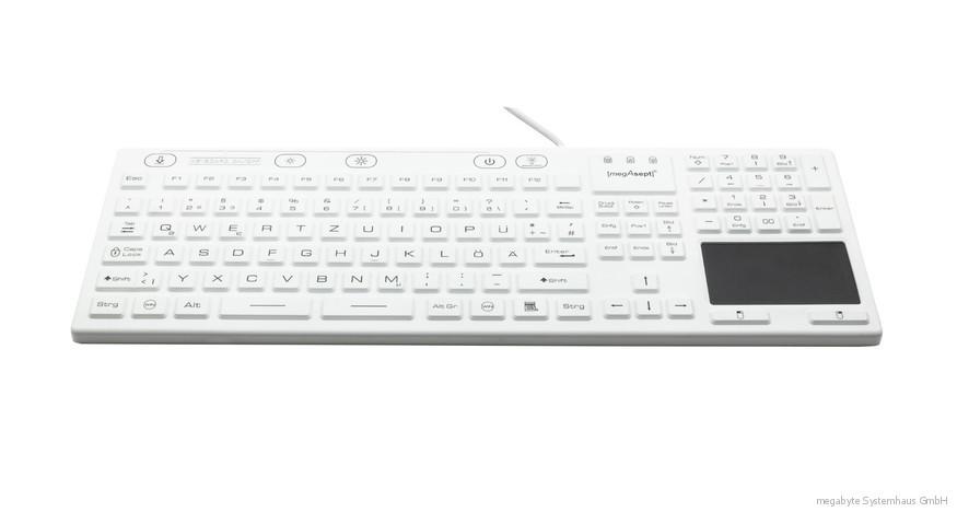 Tastatur einfach desinfizieren